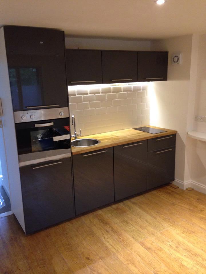 Kitchen-Installation