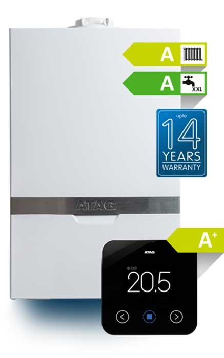 ATAG Boilers Hampshire Up to 14 Years Warranty
